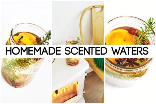 Zelfmaker: geurwater voor kerst