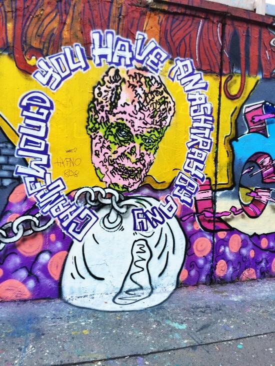 Praag graffiti