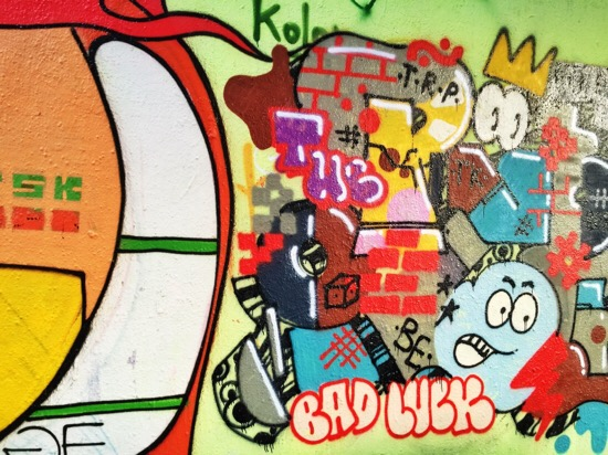 Graffiti Praag