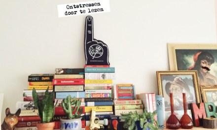 Ontstressen door te lezen