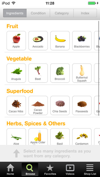 101 smoothies app
