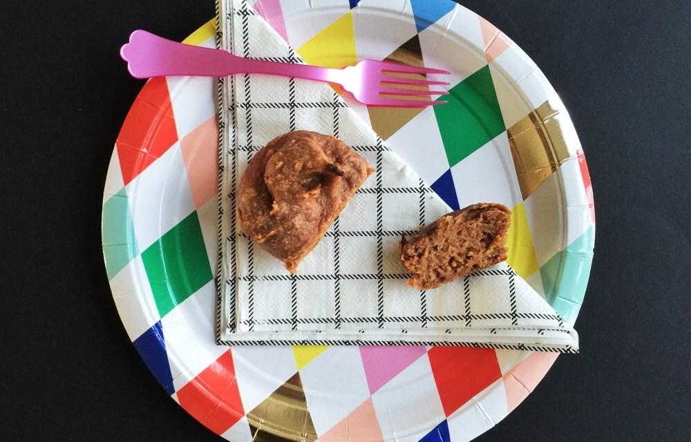 Muffins met pindakaas, zonder bloem