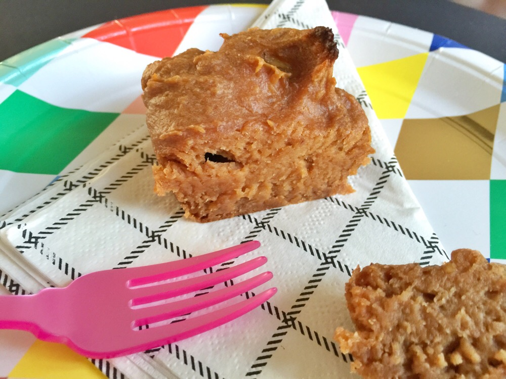 muffin met pindakaas