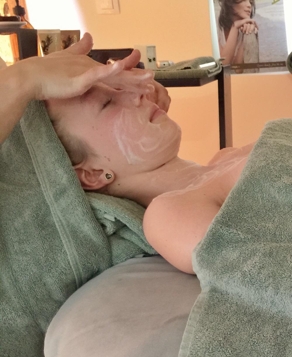 gezichtsbehandeling voor tieners