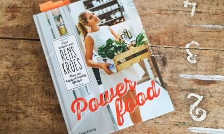 Over het boek Powerfood van Rens Kroes