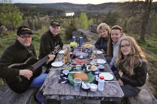 Picknick op safari