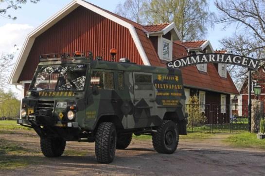 safari jeep in Zweden