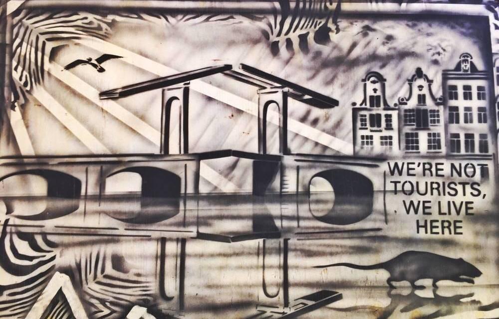 Street art in Amsterdam: grachten- en Jordaan tour