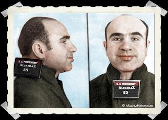 Al Capone mug shot Alcatraz