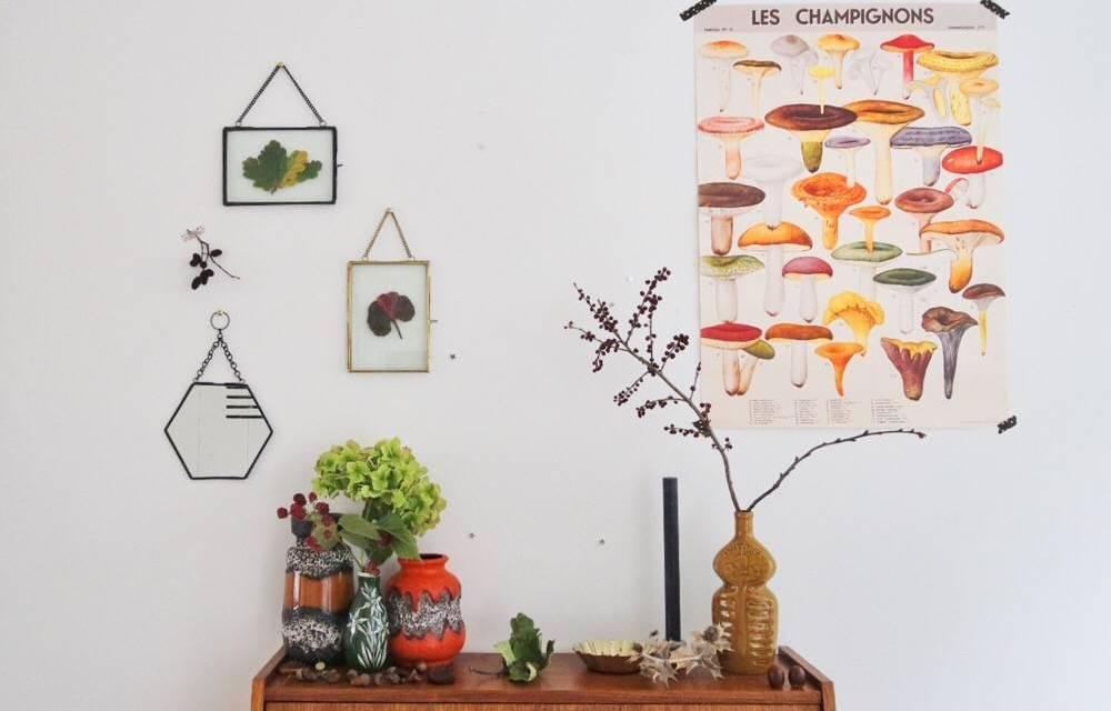 DIY: een herfst tafereeltje voor grown ups
