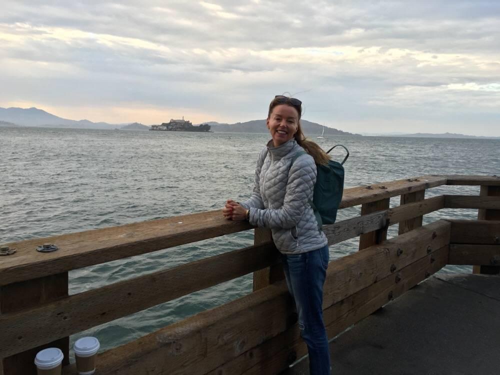view on Alcatraz