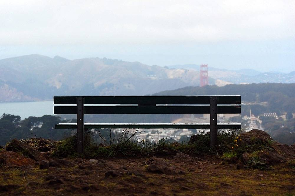 best views on San Francisco - view from Grand View Park
