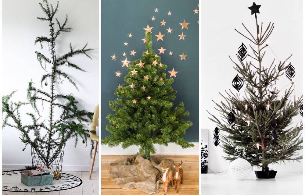 Hip & happening: minimalistische kerstboom