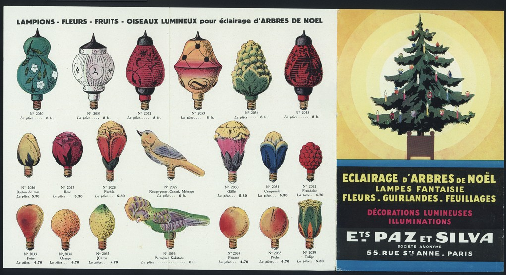 Vintage Christmas ornaments catalog