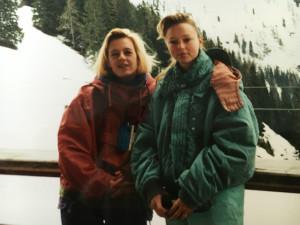 Bonnie en Ilja op wintersport