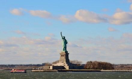 Het Vrijheidsbeeld bezoeken: up to the crown!