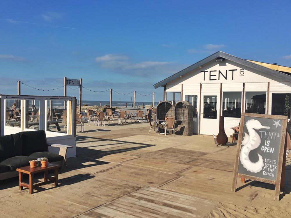 Tent 6 in Zandvoort