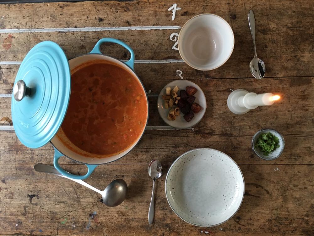 marokkaanse soep harira
