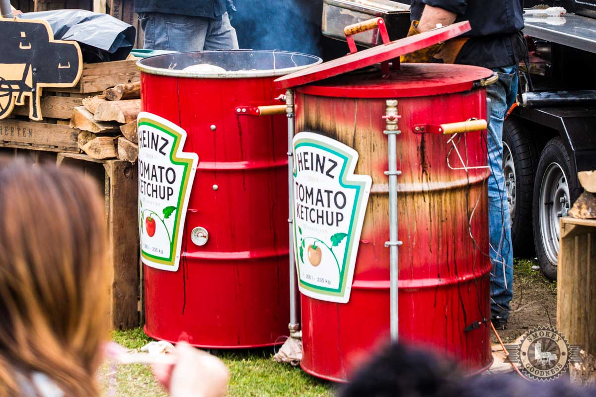 heinz barbecue barrel