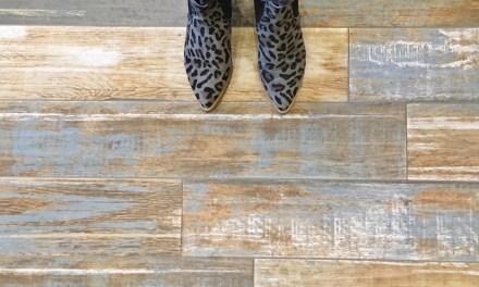 Woonidee: tegelvloer van hout