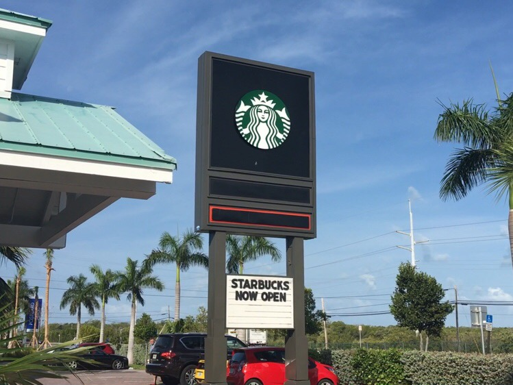 Starbucks Highway 1