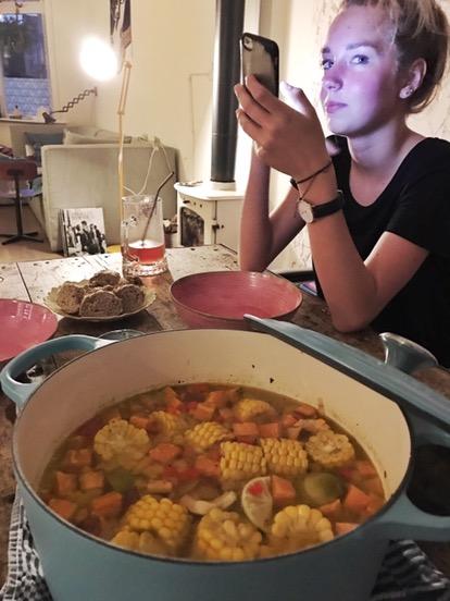 soep eten