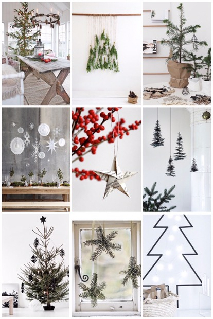 Kersttrend: Scandinavie