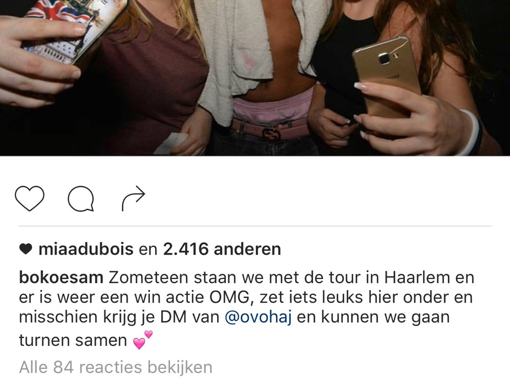 Bokoesam Instagram