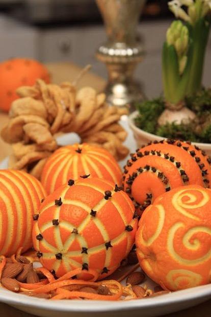 kerstsinaasappels