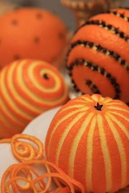 """DIY: kerstgeur met """"cloved oranges"""""""