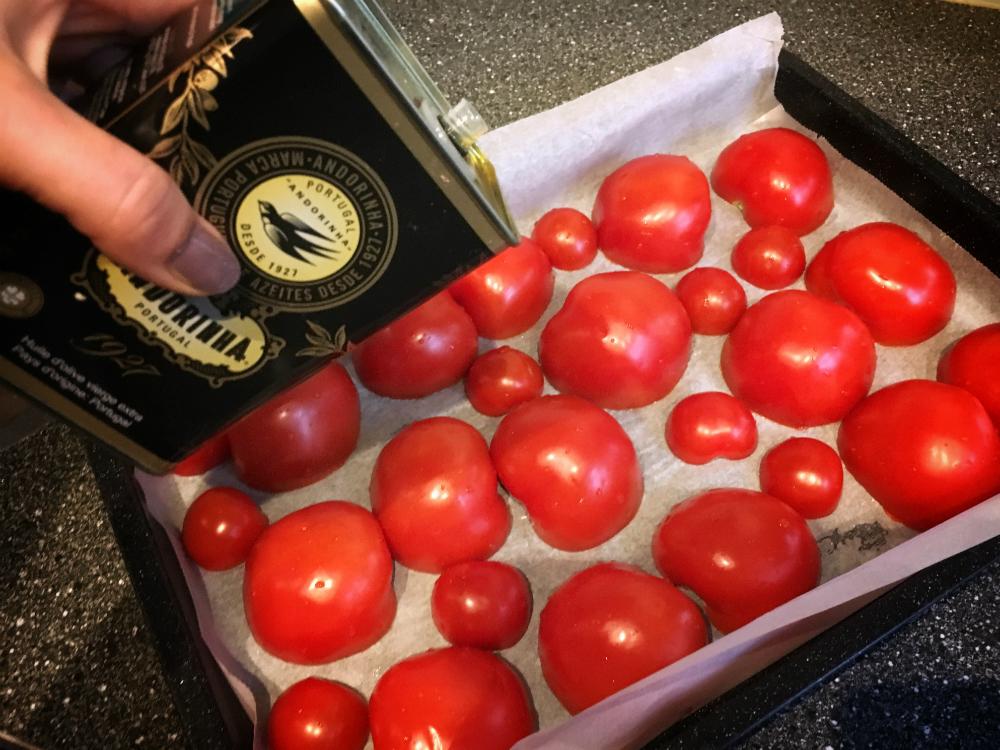 Tomaten in oven