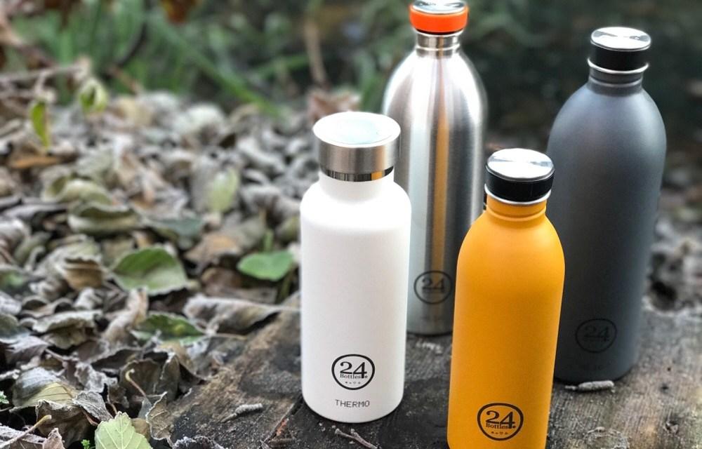 Mooi: duurzame drinkflessen van 24Bottles
