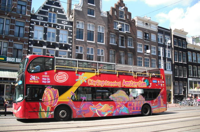 amsterdam hop-on-hop-off tour