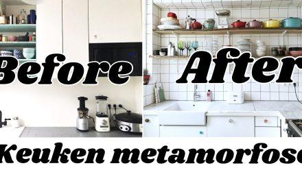 Keukenverbouwing: weg met de bovenkastjes