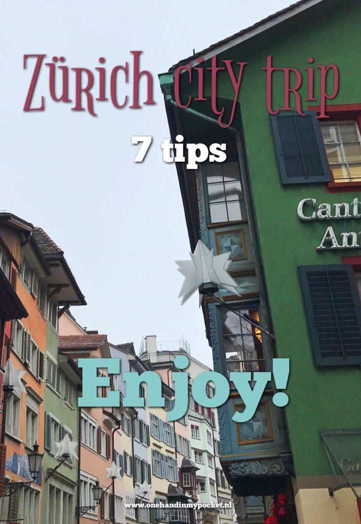 Zurich city trip tips