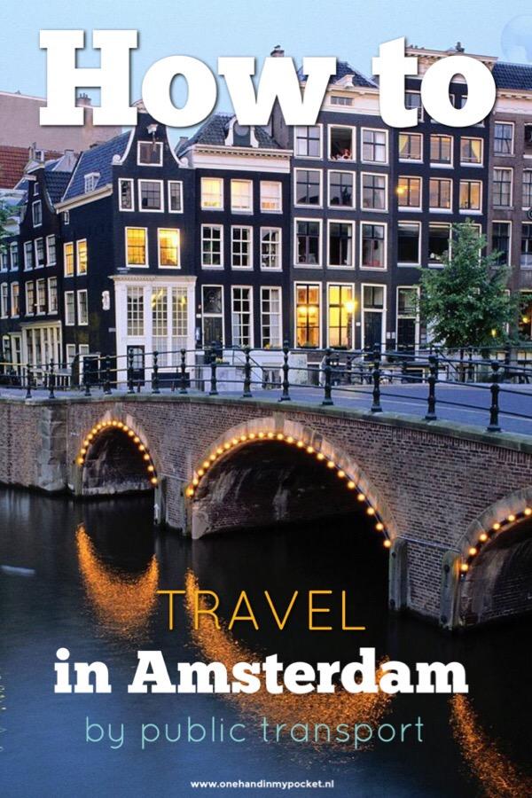 Amsterdam public transport tips