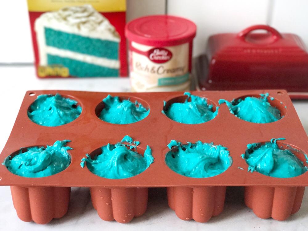 blue velvet cake recept