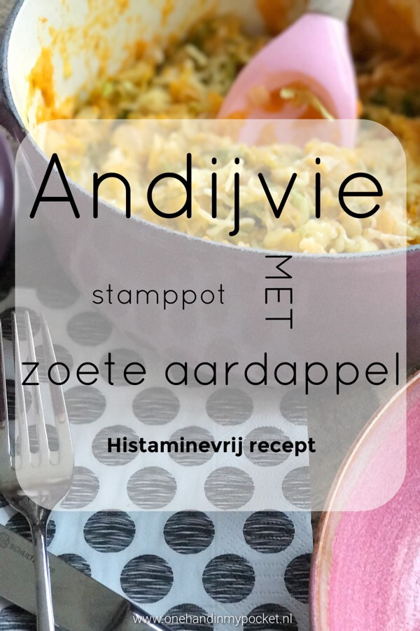histamine vrij recept: andijvie stamppot