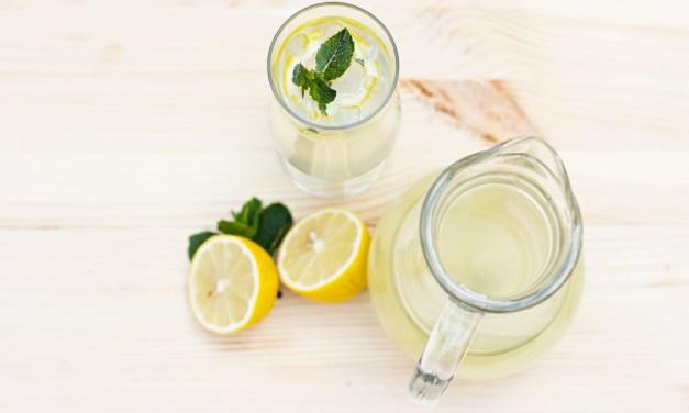 gember limonade zonder suiker