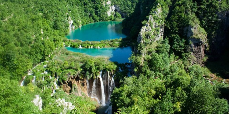 Plitvice Meren Nationaal Park Kroatie