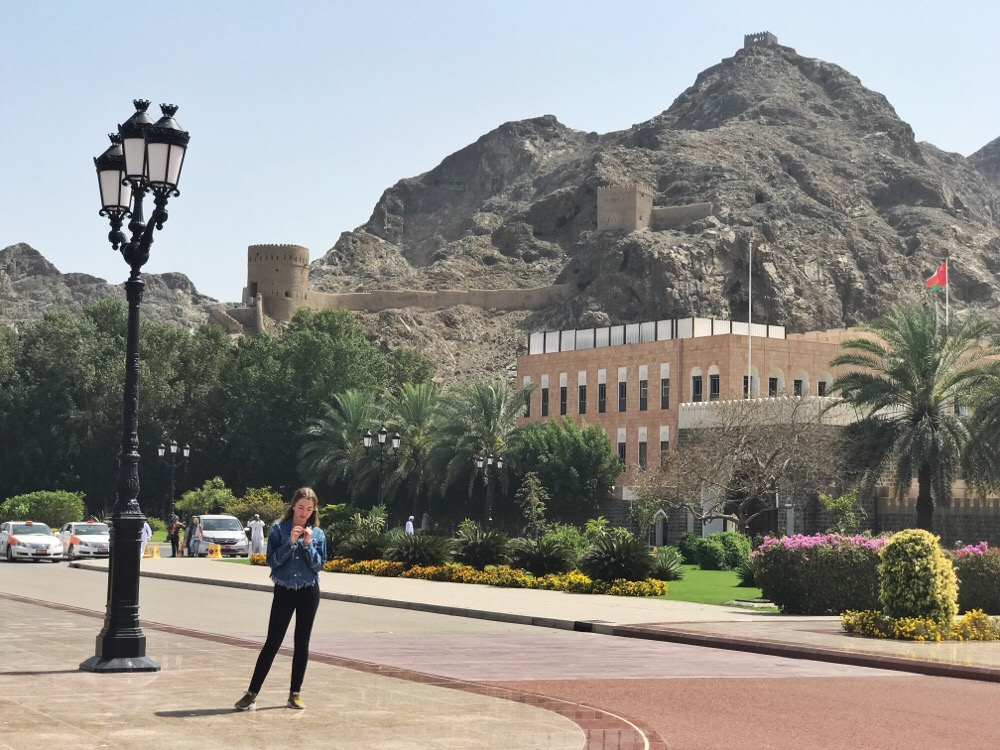 paleis van de sultan Muskat