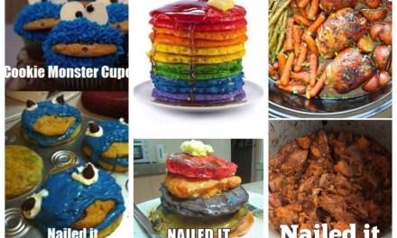 Nailed it! Of toch niet? Over mislukte Pinterest recepten
