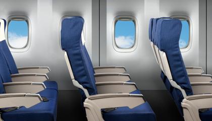 Wat zijn de beste stoelen in het vliegtuig?