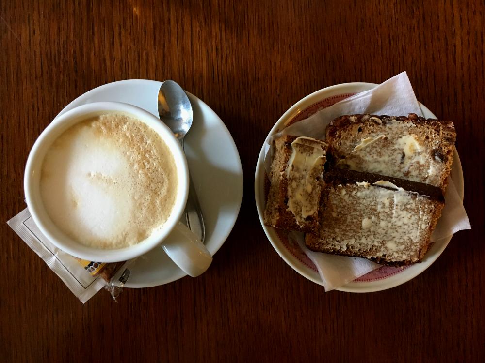 Koffie met Deventer koek
