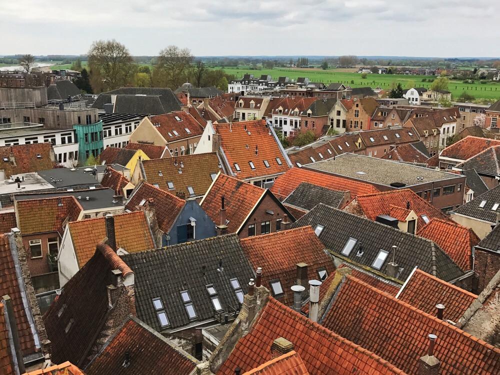 de daken van Zutphen