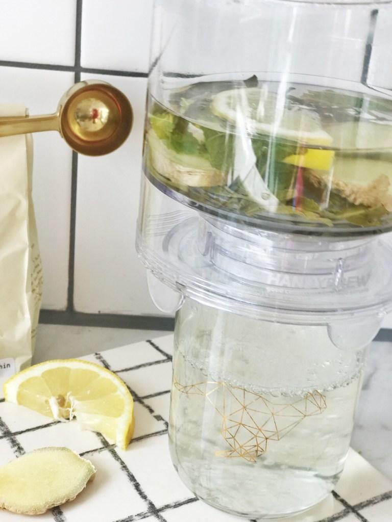 thee zetten met theefilter - teamaker