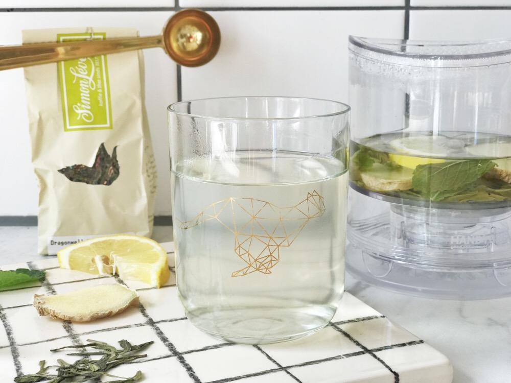 theerecept met gember en citroen
