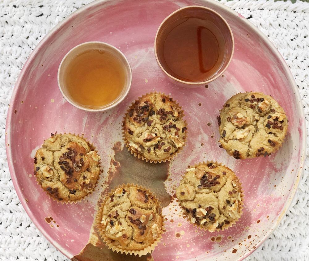 gezonde muffins met havermout en banaan