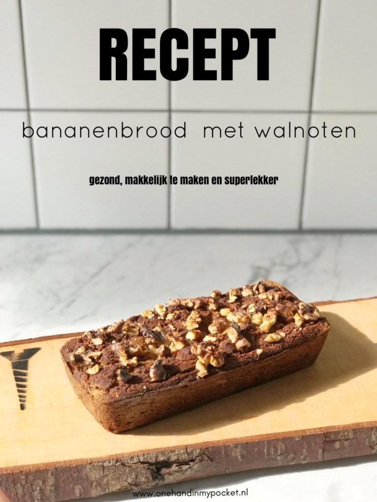 Makkelijk recept: bananenbrood met walnoten