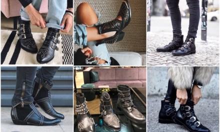 Fashion trend: enkellaarsjes met studs